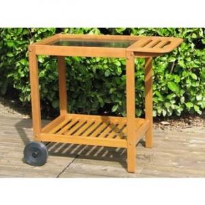 desserte en bois fsc pour plancha somagic grande taille. Black Bedroom Furniture Sets. Home Design Ideas