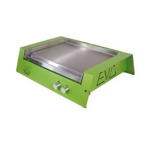 Plancha à gaz Evo verte
