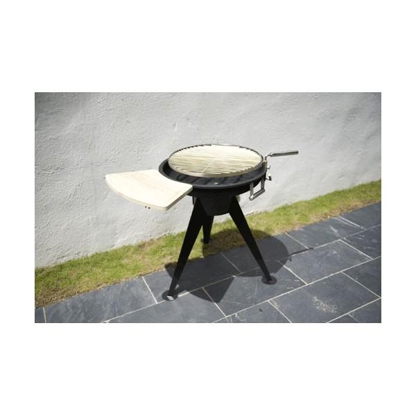 Barbecue charbon de bois terrace 600 - Barbecue charbon et plancha ...