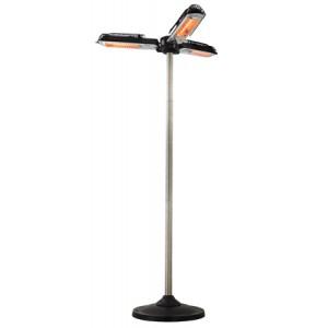 Chauffage de terrasse électrique BARI 3 TETES
