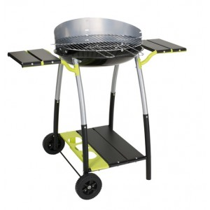 Barbecue CURVI XL charbon de bois Cook in garden
