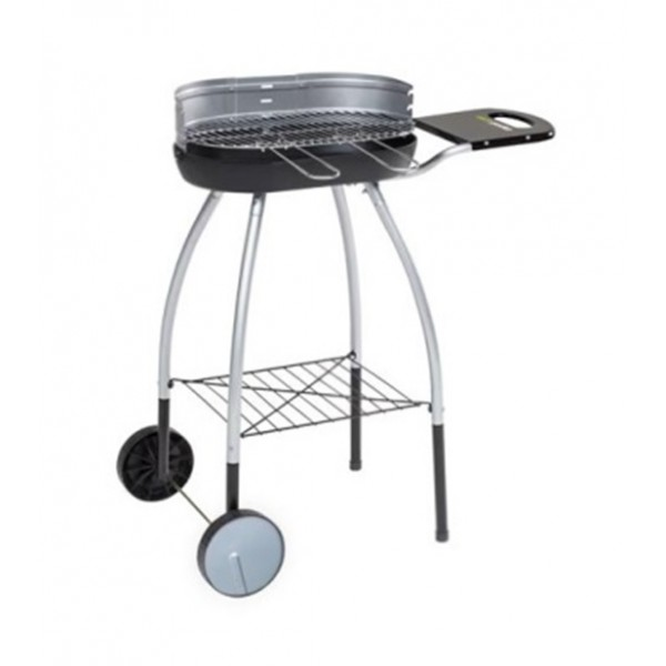 Barbecue au charbon de bois cook in garden isy fonte 30 - Barbecue charbon et plancha ...