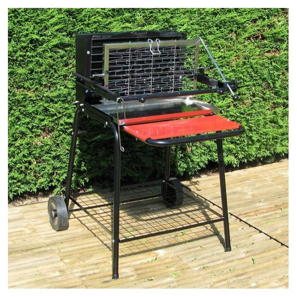 Barbecue charbon de bois raymond somagic - Plancha pour barbecue charbon ...